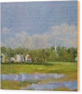 Wells  Maine Wood Print