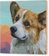 Welsh Corgi Wood Print