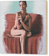 Wenona  Exposed Wood Print