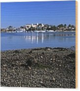 Wentworth By The Sea Hotel - New Castle New Hampshire Usa Wood Print