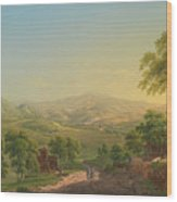 Wernigerode Wood Print