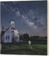 Wesley Chapel Wood Print