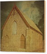 Wesley Church, Greenough, Western Australia Wood Print