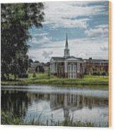 Wesleyan Chapel Wood Print