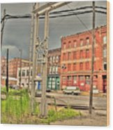 West Bottoms 7711 Wood Print