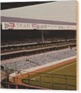 West Bromwich Albion - The Hawthorns - Rainbow Stand 1 - 1980s Wood Print