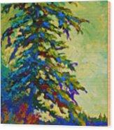 West Coast Sentinel Wood Print
