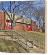 West Friendship Elementary School Wood Print