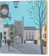 West Gate, Clonmel Wood Print