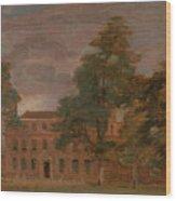 West Lodge Wood Print