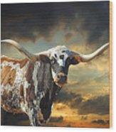 West Of El Segundo Wood Print by Robert Anschutz