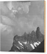 West Porcupine Ridge Wood Print