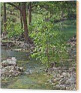 West Sister Creek Wood Print