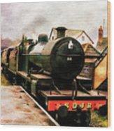 West Somerset Railways Train. Wood Print