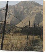 West Texas April 2008 Wood Print