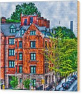 West Village By The High Line Wood Print