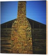 West Virginia Chimney Wood Print