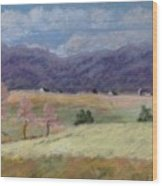 West Virginia Landscape             Wood Print