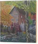 West Virginia Wonder Wood Print