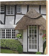 Westbrook Cottage Micheldever Wood Print