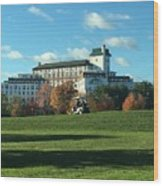 Westchester Country Club Wood Print