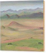 Westcliffe Valley II Wood Print