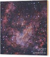 Westerlund 2 Star Cluster In Carina Wood Print