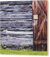 Western Door Wood Print