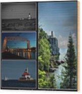 Western Lake Superior Wood Print