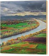 Western Massachusetts Wood Print