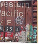 Western Pacific Wood Print