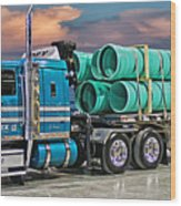Western Star Ipex Truck Wood Print