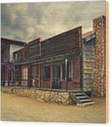 Western Town - Paramount Ranch Wood Print