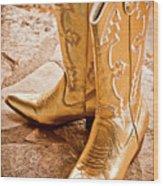 Western Wear Wood Print