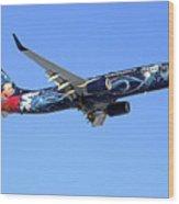 Westjet Disney Magic B-737-800 Wood Print