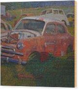 Westland 1980s Wood Print