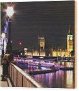 Westminster Embrace Wood Print