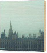 Westminster Fog Wood Print