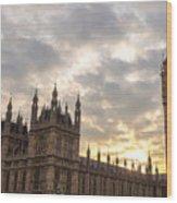 Westminster Palace Wood Print