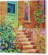 Westmount Home Wood Print