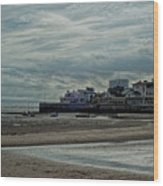 Weston - Super -mare  -  Outflow - Hdr Wood Print