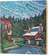 Westport Cove Wood Print