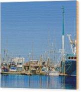 Westport Docks Color Wood Print