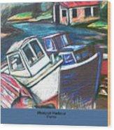 Westport Harbour Wood Print