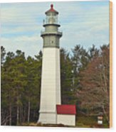 Westport Lighthouse Wood Print