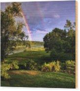 Westport Rainbow Wood Print
