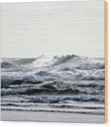 Westport Waves Wood Print