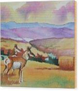 Westriver Pronghorn Wood Print