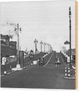 Westside Express Highway In Ny Wood Print