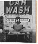 Westside Highway Car Wash Nyc Wood Print